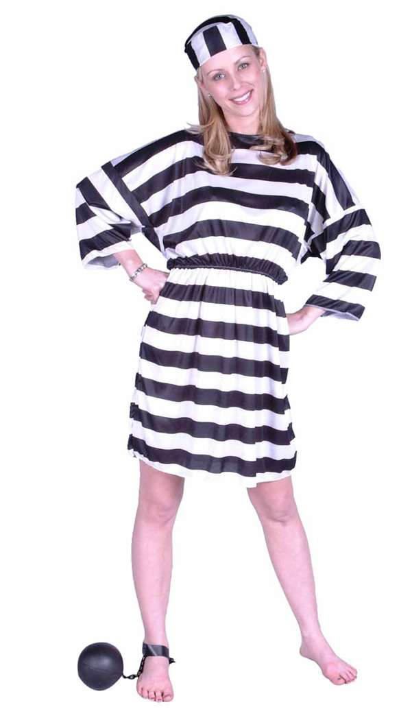 LADY CONVICT COSTUME