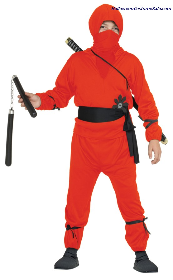 NINJA BOY CHILD COSTUME