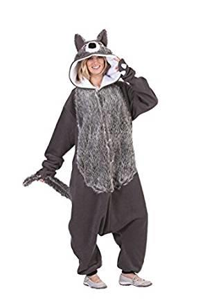 WILLIE THE WOLF FUNSIES ADULT COSTUME