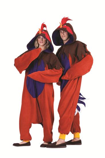 REN THE ROOSTER FUNSIES ADULT COSTUME