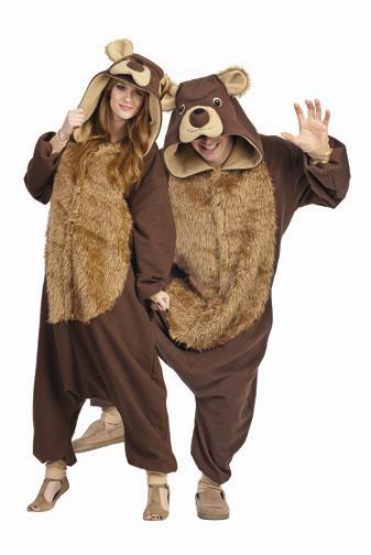 BAILEY THE BEAR FUNSIES ADULT COSTUME