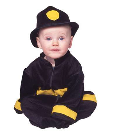 LILS FIREFIGHTER CHILD COSTUME