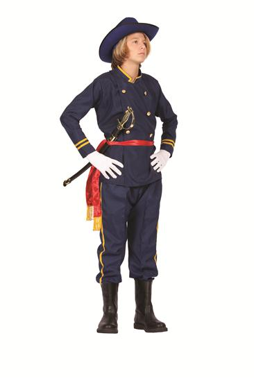 UNION OFFICER TEEN COSTUME