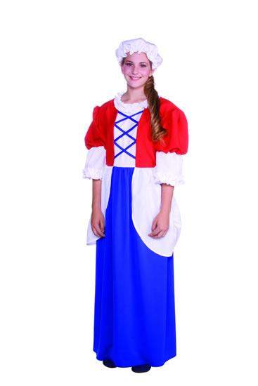 BETSY ROSS WITH HAT TEEN COSTUME