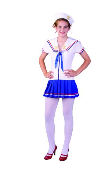 FLEET DREAME DRESS WITH HAT TEEN COSTUME