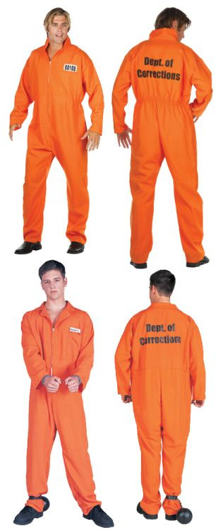 ESCAPED CONVICT ADULT COSTUME