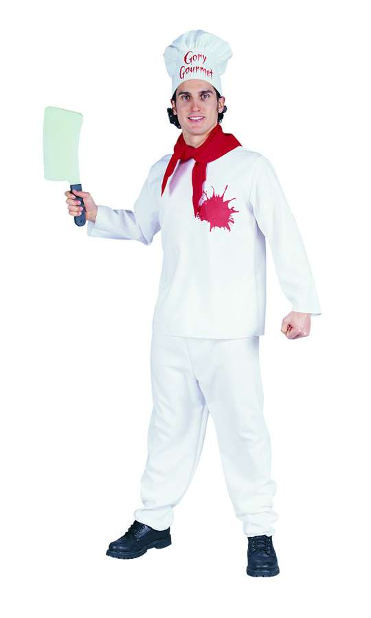 KILLER CHEF ADULT COSTUME