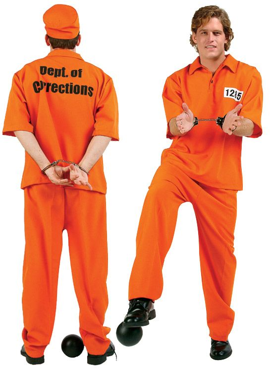NOT GUILTY ADULT COSTUME