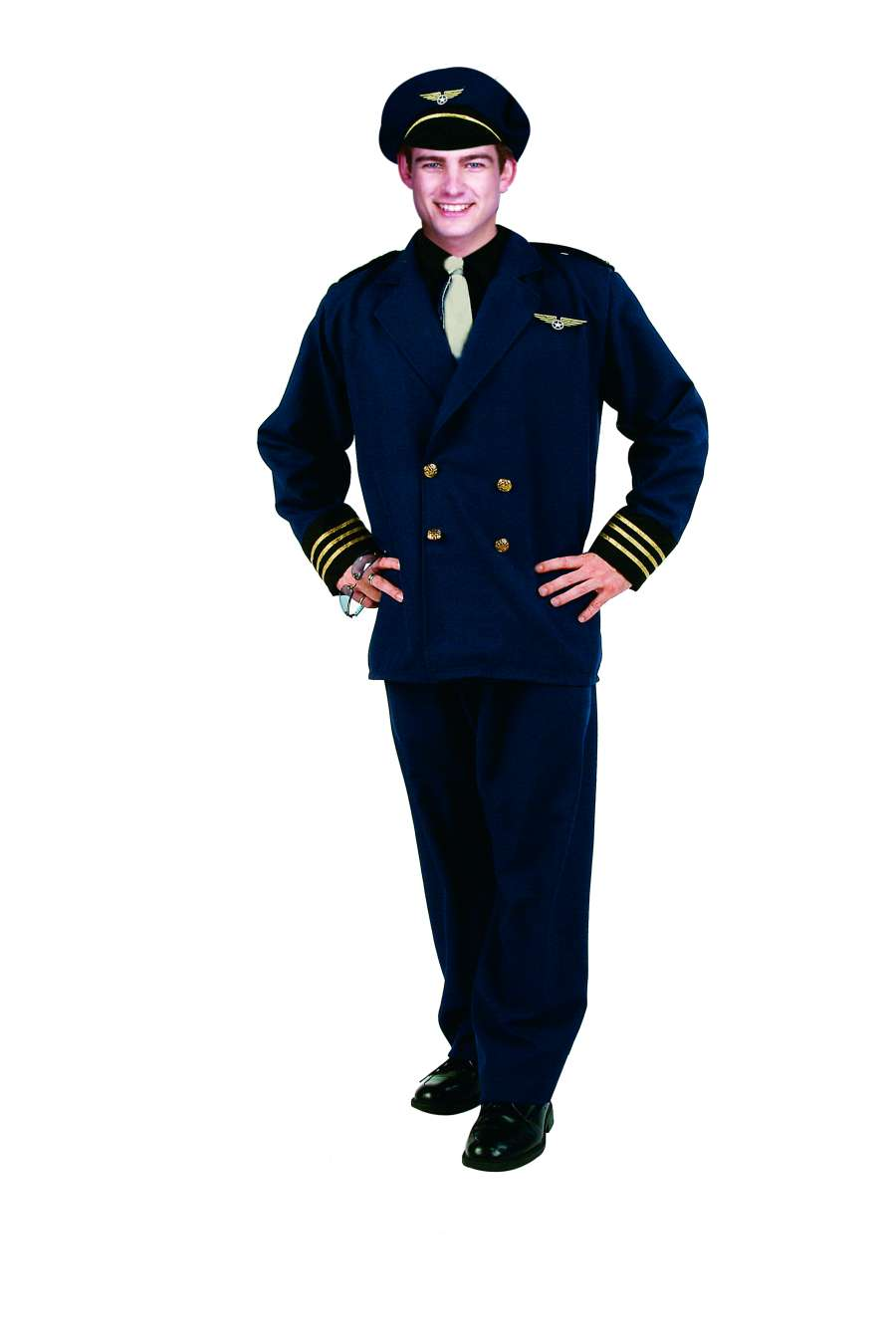 FLIGHT CAPTAIN ADULT COSTUME