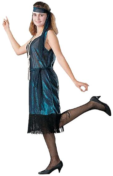 ROARING 20S FLAPPER ADULT COSTUME