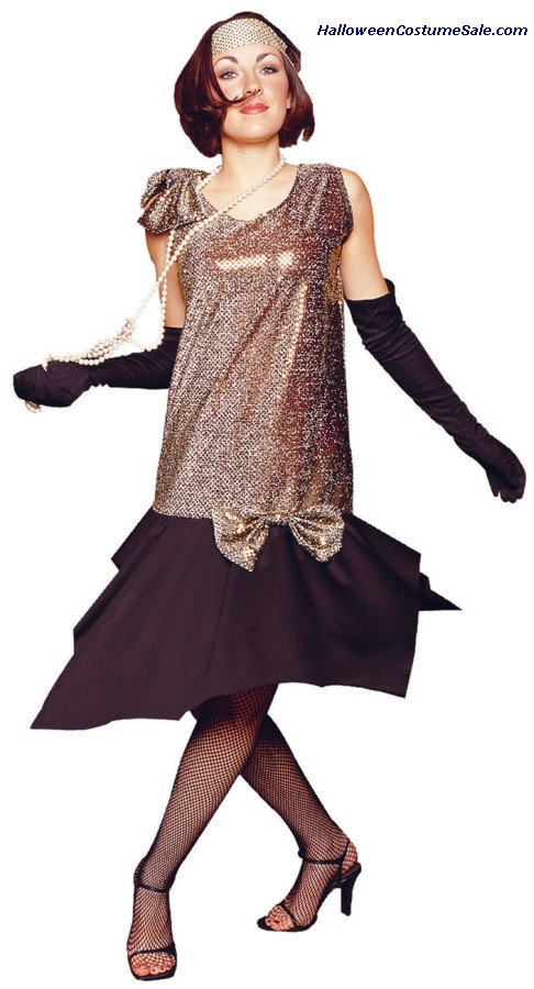 RAG TIME FLAPPER ADULT COSTUME