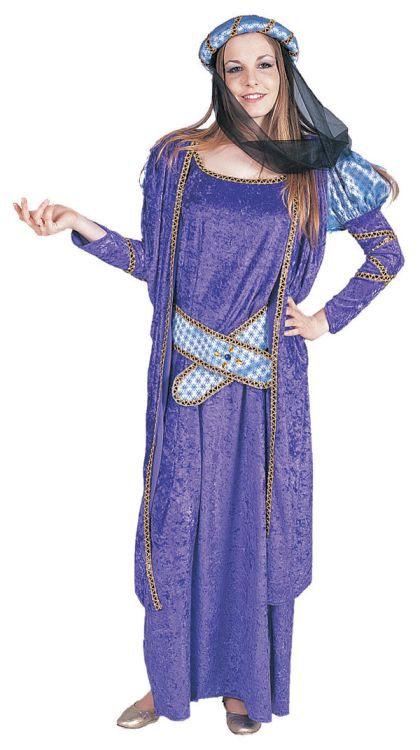 GUINEVERE/LADY MARIAN ADULT COSTUME