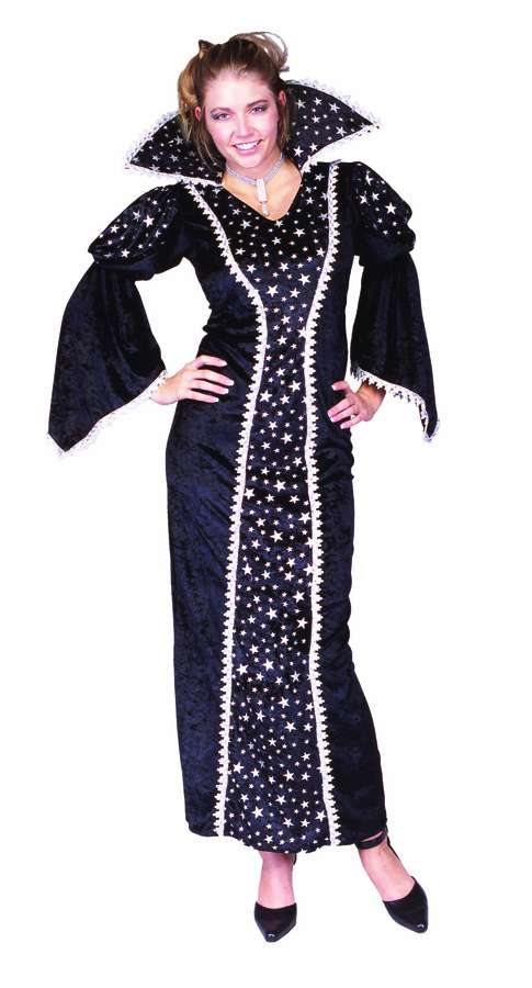 BLACK MAGIC ADULT COSTUME