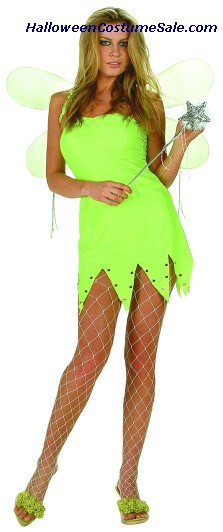 GREEN FAIRY ADULT PLUS SIZE COSTUME
