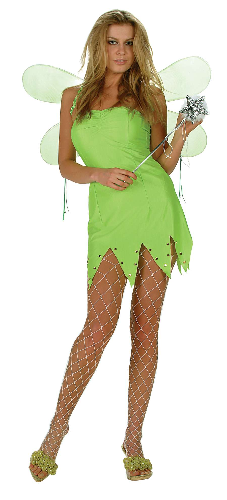 GREEN FAIRY ADULT COSTUME