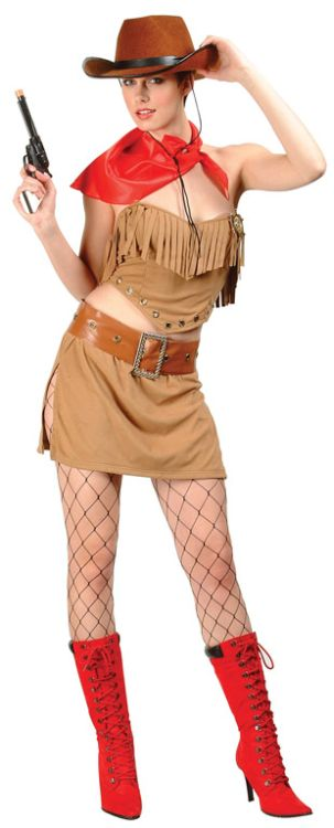 THE WILD WEST ADULT COSTUME