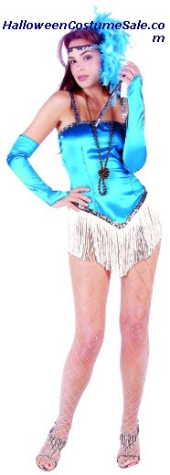FRINGETIME ADULT PLUS SIZE COSTUME