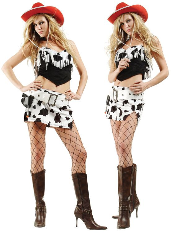 GLAMOR COWGIRL ADULT COSTUME