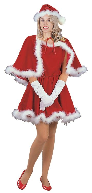 SEXY MISS SANTA ADULT COSTUME
