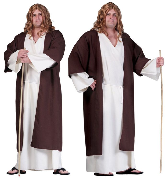 SHEPHERD ADULT COSTUME, PLUS SIZE