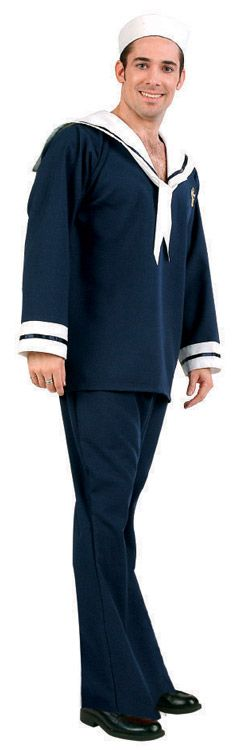 SHIP AHOY SAILOR ADULT COSTUME - PLUS SIZE