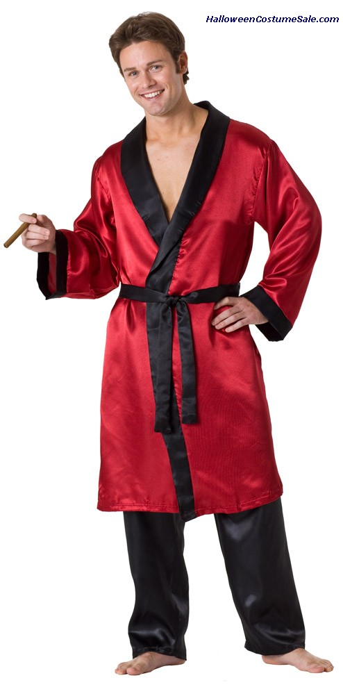 SMOKERS LONG ROBE ADULT COSTUME