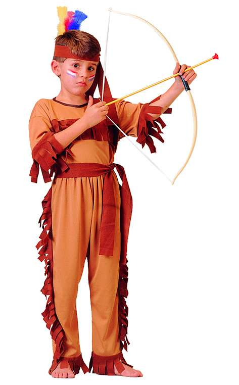 NATIVE AMERICAN WARRIOR CHILD COSTUME