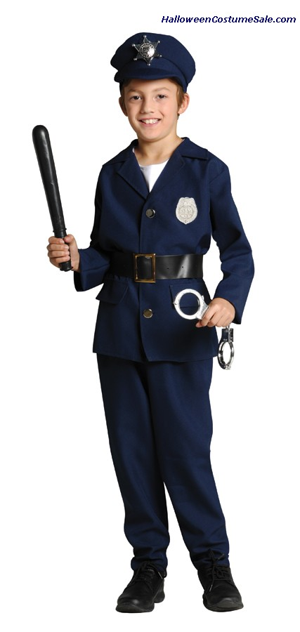 POLICEMAN CHILD COSTUME -