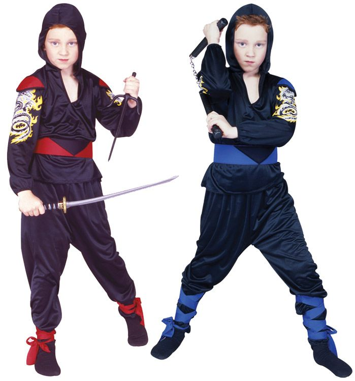DRAGON NINJA CHILD COSTUME