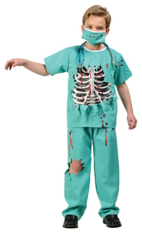 SCARY ER DOCTOR CHILD COSTUME