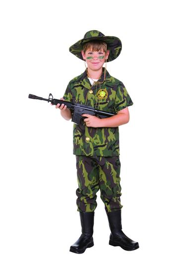 JUNGLE COMMANDO CHILD COSTUME
