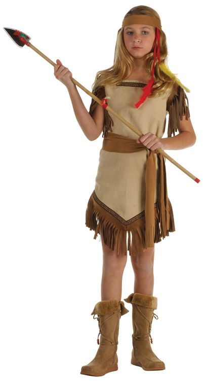 INDIAN PRINCESS CHILD COSTUME