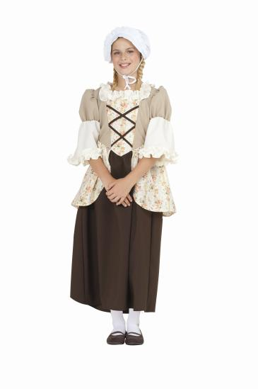 COLONIAL BELLA CHILD COSTUME