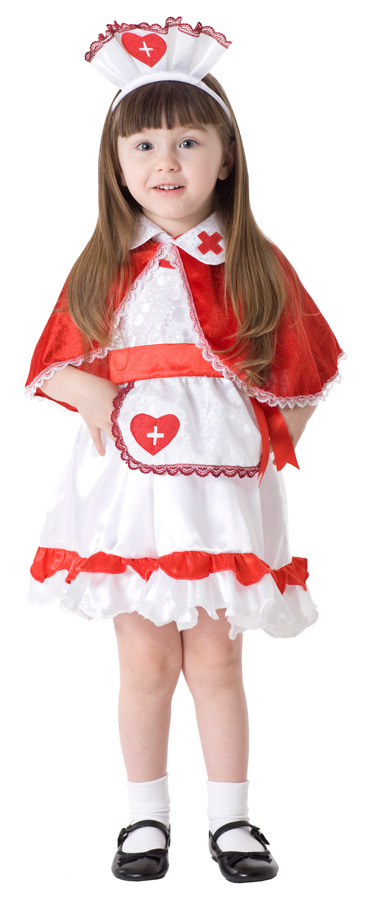 Caped Nurse Toddler Costume