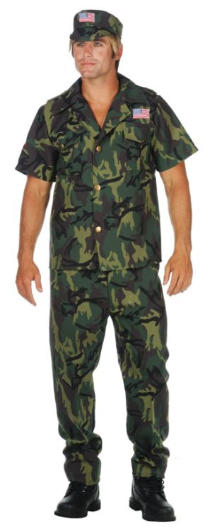 Military Army ADULT Costume