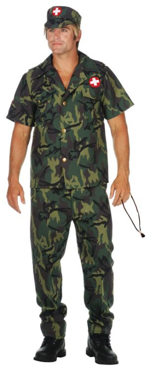 Army Doctor Adult Costume