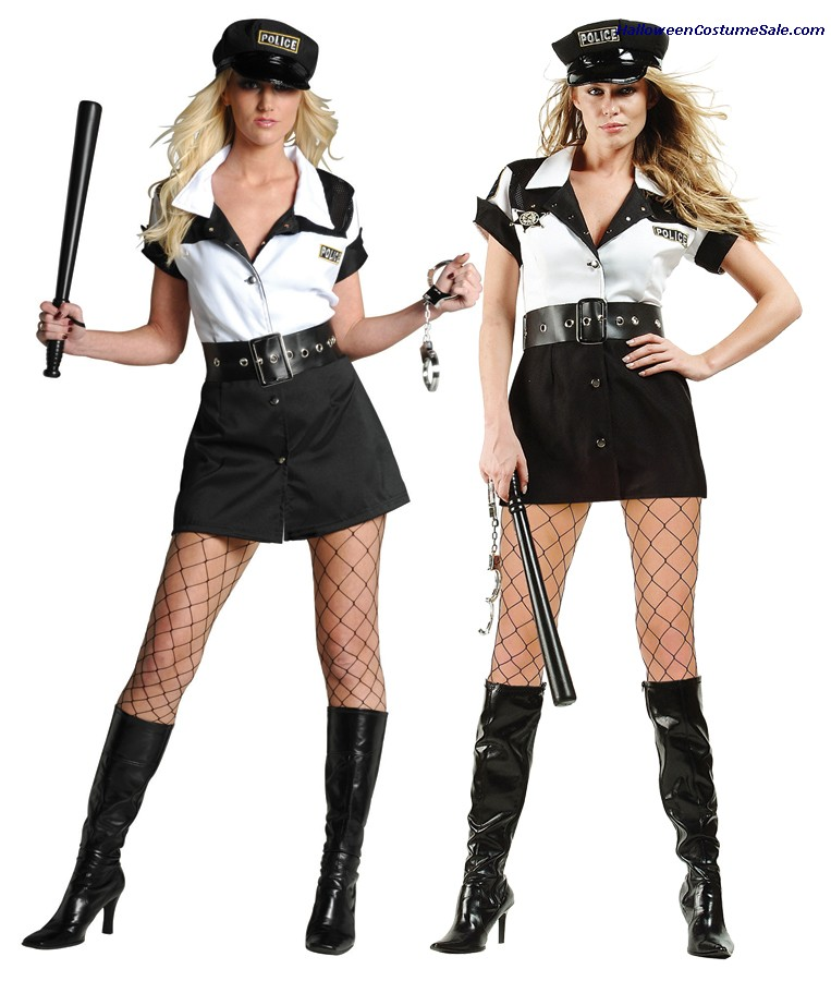 NATION WIDE POLICE ADULT COSTUME - PLUS SIZE