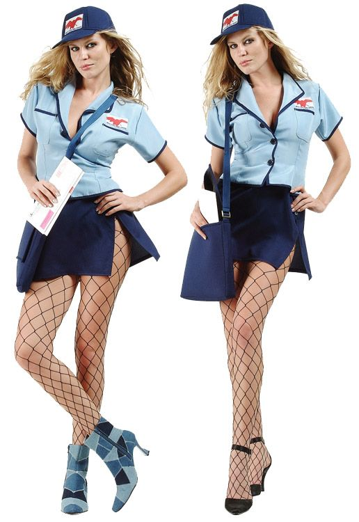 US Mail Service Adult Costume - Plus Size