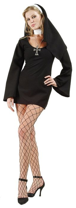 Sexy Nun Adult Costume - Plus Size