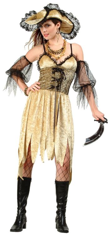Pirate of Illusion Adult Costume - Plus Size