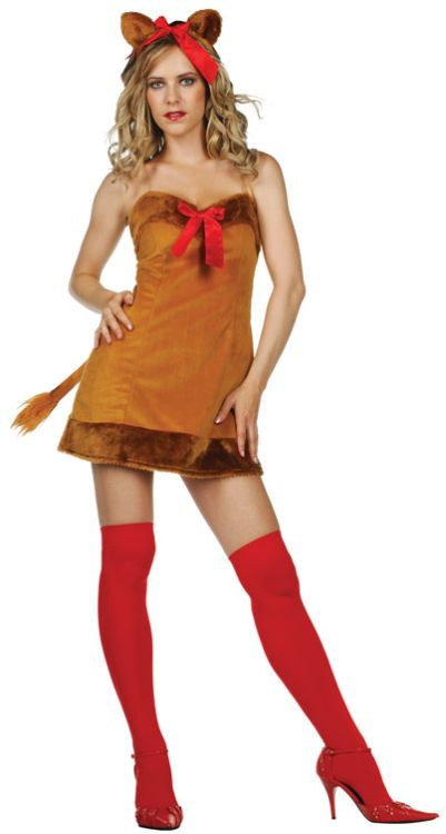 Sexy Lion Adult Costume - Plus Size