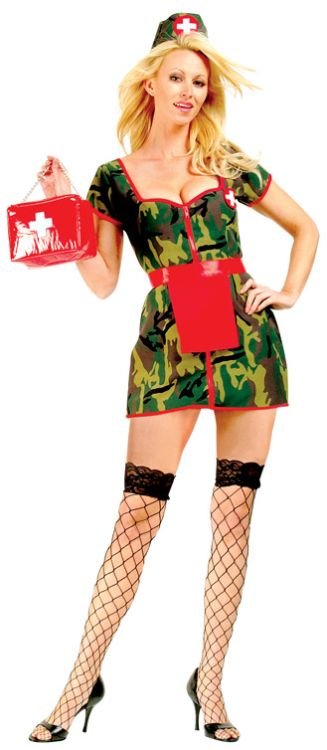 Army Flash Adult Costume - Plus Costume