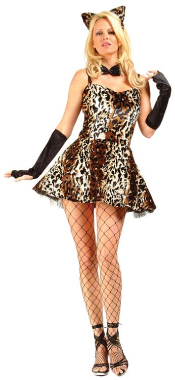 Party Leopard Adult Costume