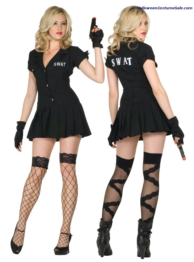 SWAT ADULT COSTUME - PLUS SIZE