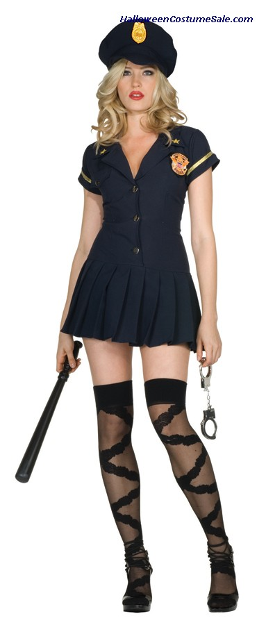 OFFICER SAVE ME ADULT COSTUME - VERY HOT!