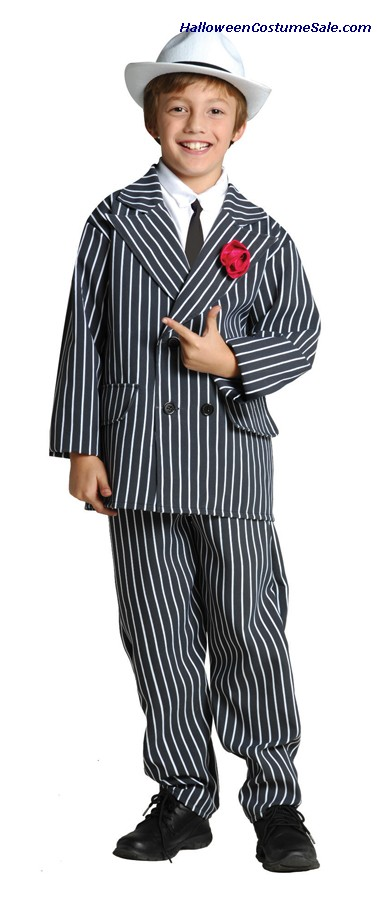GANGSTER SUIT CHILD COSTUME