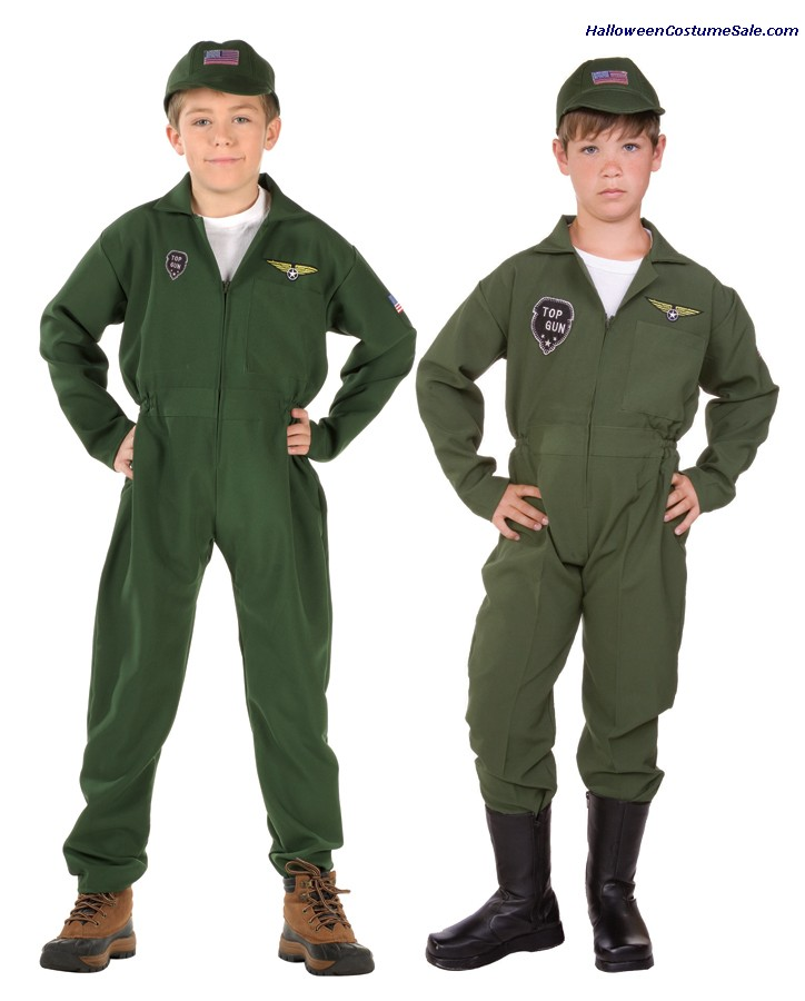 TOP GUN CHILD COSTUME