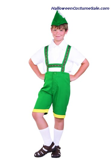 BAVARIAN BOY - CHILD COSTUME
