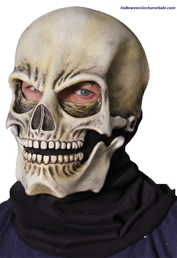 SOCK SKULL CLASSIC ADULT LATEX MASK