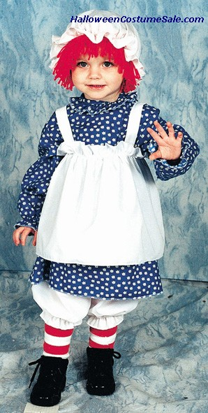 RAGGEDY ANN CHILD COSTUME